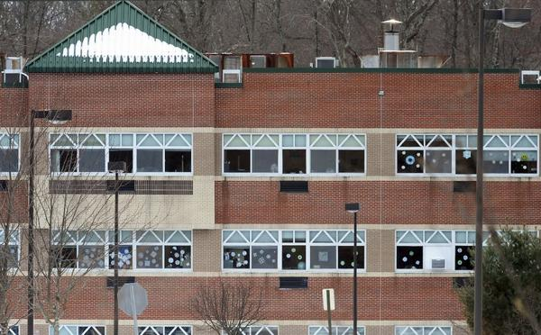 Officials said Adam Lanza, 20, studied other mass killers before a December shooting rampage in Newtown, Conn. Above, the new Sandy Hook Elementary School.