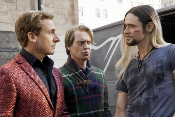 "Steve Carell, Steve Buscemi and Jim Carrey star in ""The Incredible Burt Wonderstone."""