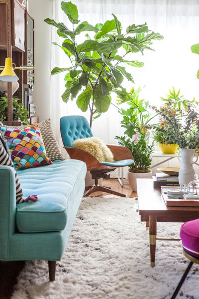 The greenery creates... - Design swap: Jungle - latimes.