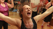 Working out with Richard Simmons