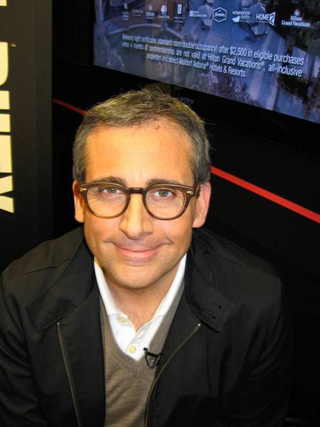 Steve Carell visited ESPN on Thursday, March 14, and took the time to Spill the Beans with Java.