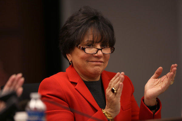 Billionaire Chicago businesswoman Penny Pritzker has resigned from the Chicago Board of Education effective today, according to a letter she sent to Chicago Mayor Rahm Emanuel.