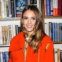 Jessica Alba at Books & Books