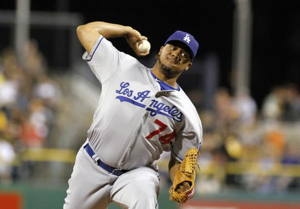 Dodgers pitcher Kenley Jansen will work out with the team through Sunday but is expected to pitch for the Netherlands in the World Baseball Classic on Monday night.
