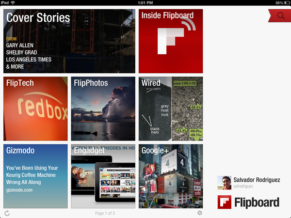 Flipboard is one of the top alternatives to Google Reader.