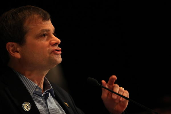 U.S. Rep. Mike Quigley, seen here in September, is one of seven Illinois congressmen to support gay marriage, though he doesn't have a vote in the Illinois General Assembly.