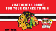 Blackhawks Tickets Giveaway at Golf Mill Shopping Center