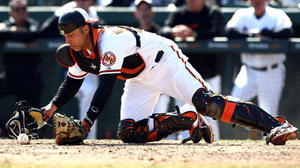 Catcher's interference costs Orioles in 4-3 loss to Rays