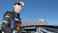 NASCAR's Denny Hamlin drops plans to appeal $25,000 fine