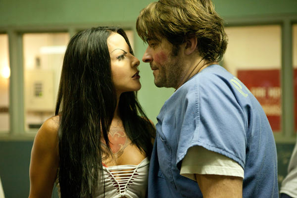 "Kate Del Castillo and Goran Visnjic in ""K-11."""