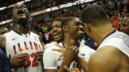 Paul's shot gives Illini a win at buzzer 51-49