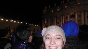 Student from South Bend views history in Rome