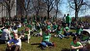 Chicago's annual St. Patrick's Day parade will step off at noon Saturday from Balbo and Columbus drives in Grant Park and head north about half a mile to Monroe Drive.