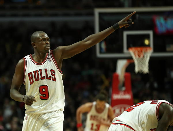Luol Deng likes his Duke Blue Devils' chances to cut down the nets in Atlanta.