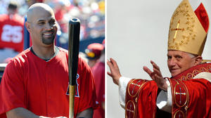 Popes and home runs