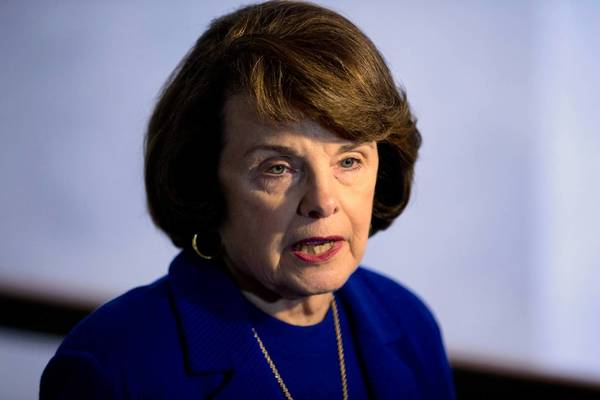 """I've looked at bodies that have been shot with these weapons,"" the bill's chief sponsor, Sen. Dianne Feinstein, told Senate Judiciary Committee colleagues. ""How many times does this have to happen?"""