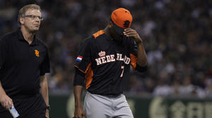 Orioles minor league pitcher Jonatan Isenia injures elbow in WBC