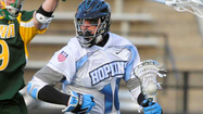 30-second timeout with Greg Edmonds, Johns Hopkins lacrosse midfielder