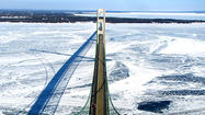 ST. IGNACE, Mich. (AP) — Icebreaking work is expected clear the way for ferry trips to Mackinac Island from St. Ignace as well as Great Lakes shipping.