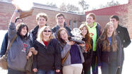 The East Jordan High School quiz bowl team walked away with a first place trophy Wednesday after bettering much larger schools from across the state.