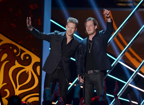 Tyler Hubbard (right) and Brian Kelley of Florida-Georgia Line will perform at Preakness InfieldFest this year.