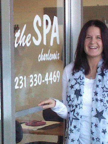 Brenda Lamb. owner of The Spa Charlevoix, is organizing a fundraiser for the Charlevoix Area Humane Society on Tuesday, March 19, in Petoskey.