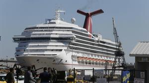 Despite cruise ship woes, Carnival first-quarter earnings up slightly