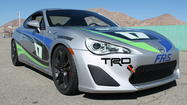 Race-prepped Scion FR-S