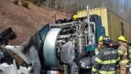 The tractor-trailer fire on Interstate 64 in Rockbridge County has been cleared.