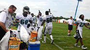 Eagles training camp at Lehigh