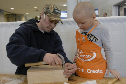 The annual home show in Petoskey offers advice from vendors and even learning opportunities for youth.
