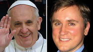 A Chicago lawyer said he bought the internet domain name popefrancis.com as a lark in 2010 and plans to give it to the Roman Catholic Church for free now that the new pope has chosen the name Francis.