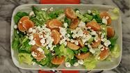 Recipe: Tangerine, butter lettuce and goat cheese salad