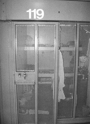 The solitary confinement cell of an inmate at Pelican Bay State Prison's Security Housing Unit. Photograph provided to Amnesty International.