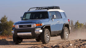 Toyota recalling 209,000 FJ Cruisers because of a seat belt problem