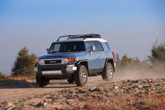 Toyota is recalling 209,000 FJ Cruiser SUVs
