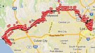 L.A. Marathon: Streets across city to close early Sunday [Map]