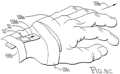 Apple has applied for and received numerous patents related to wearable computing concepts that target the wrist. One is a bracelet with a multi-touch display.