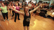 Breaking a sweat, busting a gut with Richard Simmons in B-Hills