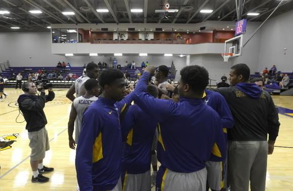 Montverde Academy is No. 1 in the final boys basketball Super 16 of the 2012-13 season. (Phelan M. Ebenhack, Special to the Sentinel)