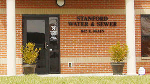 $1 million in funding secured for Stanford water line upgrade