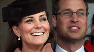 Kate Middleton, Prince William cozy up during horse race