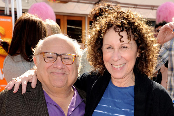 "Danny DeVito and Rhea Perlman at the premiere of ""Dr. Seuss' The Lorax"" early last year."