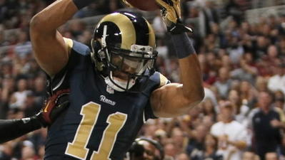 The sixth-year receiver enjoyed career highs in receiving yards (691), yards per reception (13.5), touchdowns (5) and games started (13) in 2012 for the Rams.