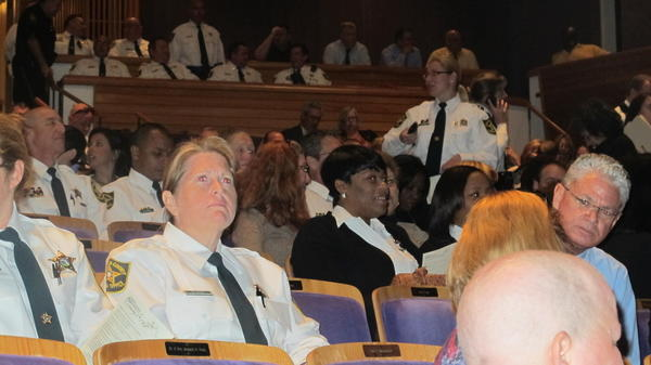 Deputies at the awards ceremony