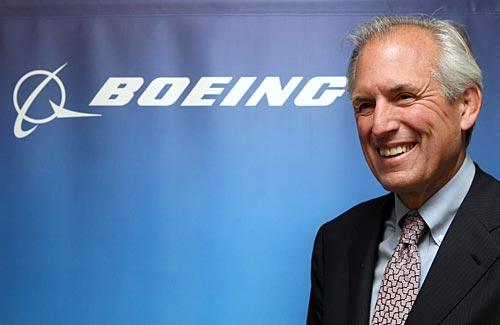 Jim McNerney, President, chairman and chief executive of Boeing Co.