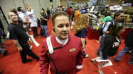 Carl Sheldon had a mission Friday to boldly go where he has never has gone before: MegaCon.
