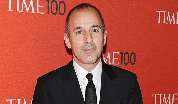 Matt Lauer currently appears on NBC's 'Today'