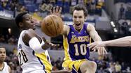Photos: Lakers at Pacers