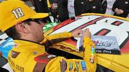 Kyle Busch takes Bristol pole with track record lap; Bowyer will have to battle from 23rd